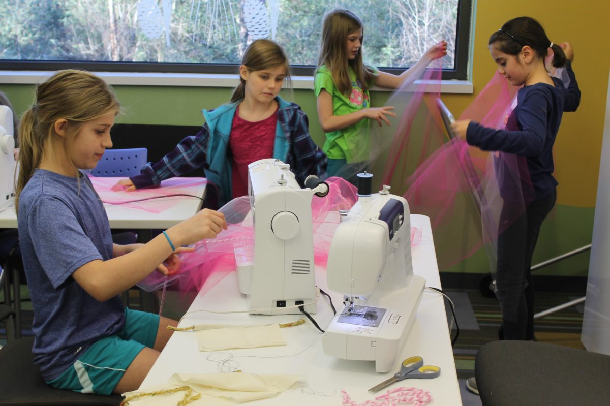 Sewing/Textile Arts Programs in Rochester Churches and Shelters
