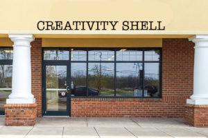 Creativity Shell Moving into Former Painting with a Twist Studio at 807 Ridge Road in Webster!